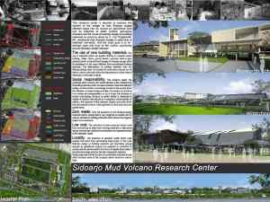 Master Plan-Mud Volcano Research Center at Sidoarjo_a479_3D Architectures
