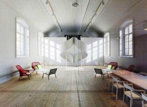 Minimalist Office Interior Design by Elding _a600Oscarson