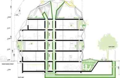 Mosaic Architecture Plan for Student _a500Housing 3D Architecture