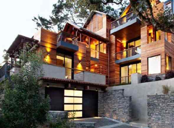Sustainable Projects-Marin hillside house