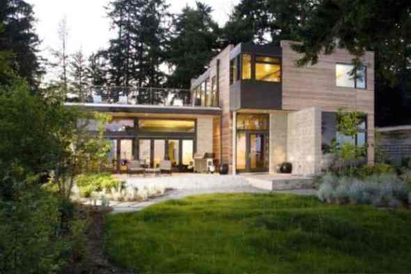 Sustainable Projects-Modern Ellis residence