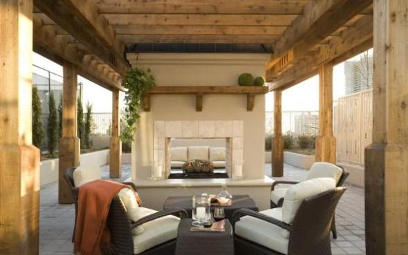 Modern Fireplace Furniture