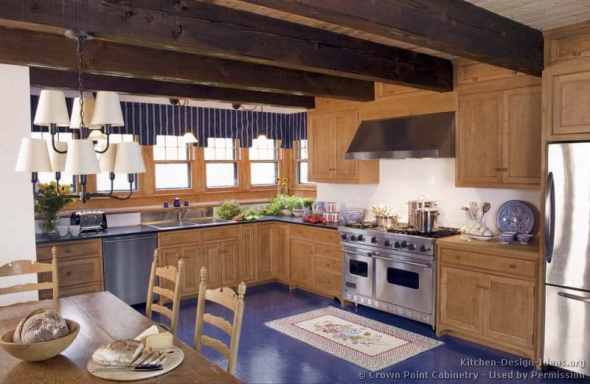 English Country Kitchens