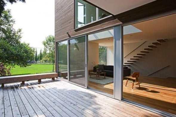modern and futuristic box house