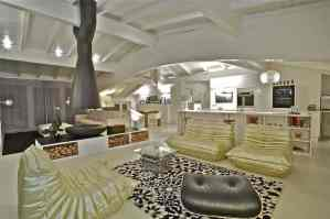 Beautifully Furnished Living Area - Sophisticated Modern Penthouse Design