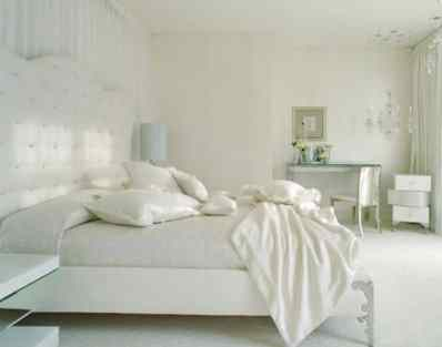Another White Bedroom Design