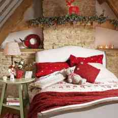 Bedroom Decoration Christmas Design