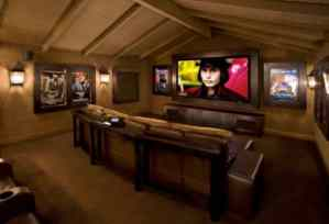 Home Cinema Decoration with Posters