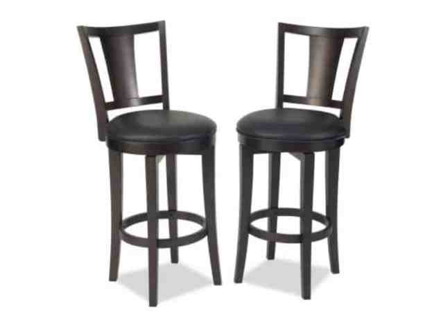 Minibar Interior Ideas - Special Wooden Bar Chairs