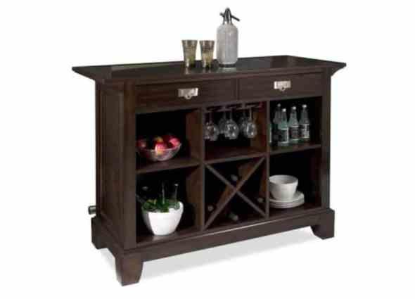 Minibar Interior Ideas - Wooden Unique Bar Set
