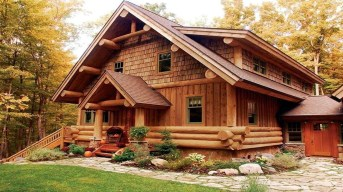 Log Cabin Homes Design Ideas
