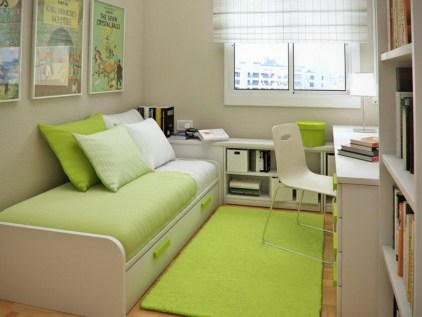 Modern Shown with Bright Color for Korean Style Bedroom