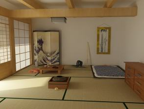 Sliding Door for Korean Style Bedroom