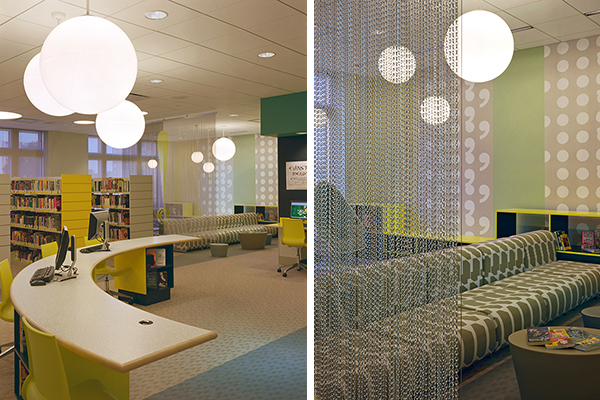 Architecture Is Fun Evanston Public Library Teen Loft