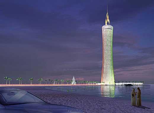 BURJ AL-TAQA Tower Dubai