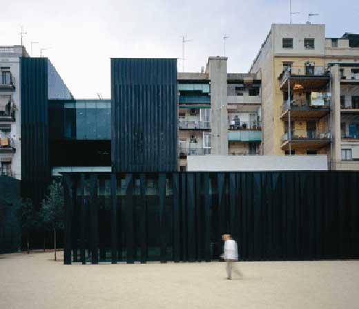 the Joan Olivier Sant Antoni library