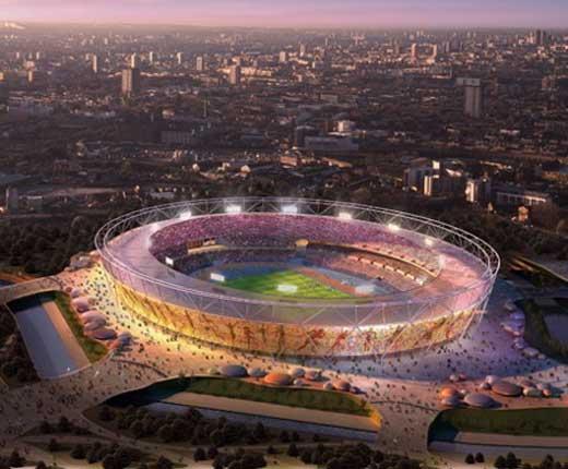 London 2012 Olympics stadium
