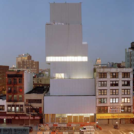 New Museum of Contemporary Art in New York
