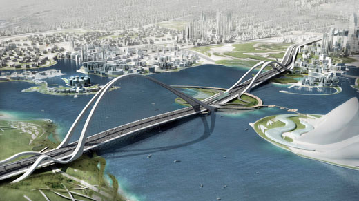 Dubai Worlds Largest Arch Bridge