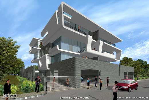 Fluid House by Sanjay Puri Architects