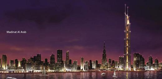 The Dubai Waterfront.