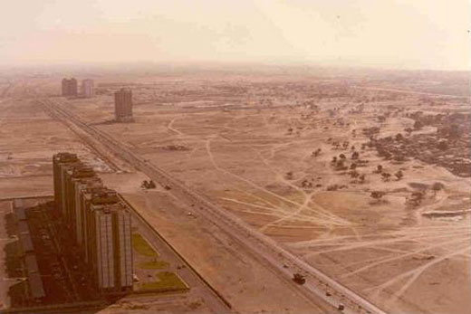 Dubai in 1990 prior to the craziness