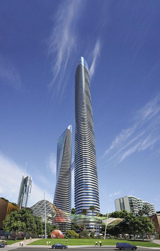 World tallest residential
