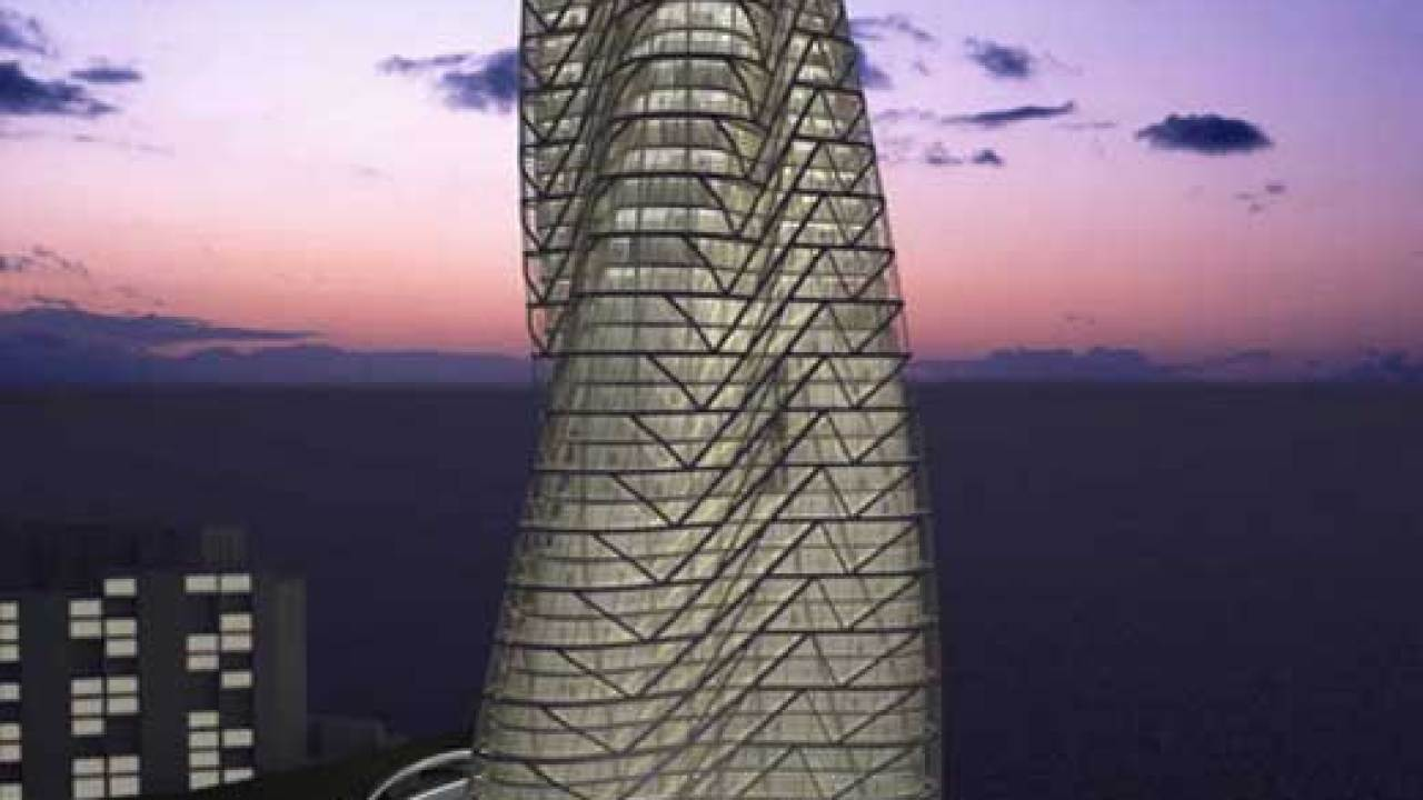 Strata Tower in Abu Dhabi - Architecture List : Architecture