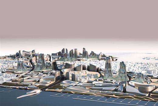 Zaha Hadid project in Kartal, Istanbul