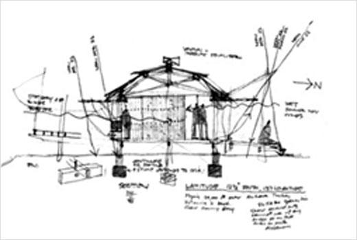 Marika-Alderton House sktech by glenn murcutt