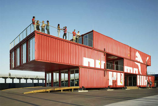 'Puma City' Shipping Container Store