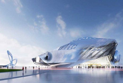 Dalian International Conference Centre in CHina