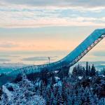 NEW HOLMENKOLLEN SKI JUMP, Norwegia / by JDS ARCHITECTS