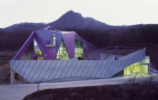 Purple Hill House, Gyeounggi-do, Korea / by IROJE KHM Architects