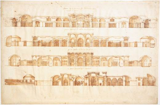 Rare Palladio drawings