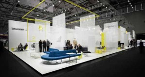Brunner Fair stand Orgatec 2010, Cologne, Germany / by Ippolito Fleitz Group