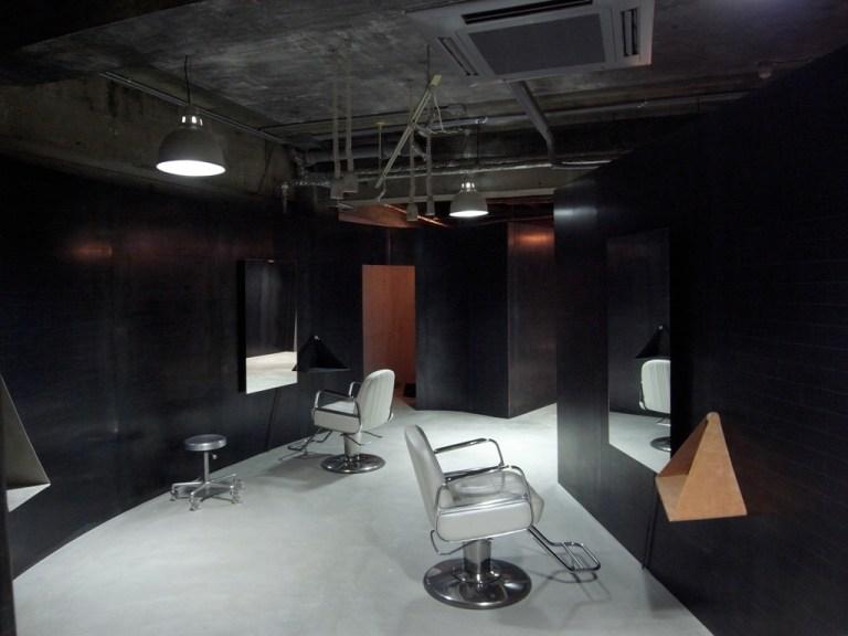Elastico Hair Salon, Hyogo / by Katsuhiro Miyamoto & Associates