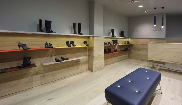 New Seraphita Shoe Shops in Madrid / by Stone Designs