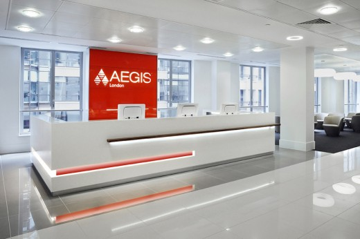 Office Interior of Aegis, London / by Mansfield Monk