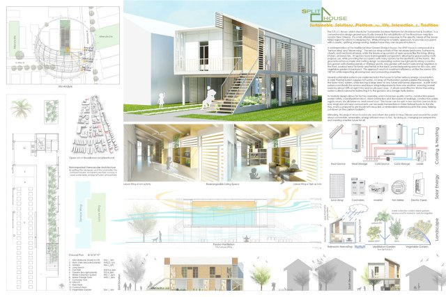 S.S.P.L.I.T. House (Sustainable Solutions Platform for Living Interaction & Tradition) / by Ed Seymour