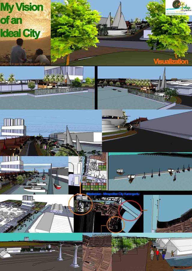 Masterplan of Minapolitan City Karangantu, Indonesia / by Tapak Bumi