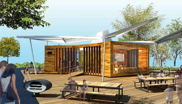 New concept restaurant UMAMI KO also called U-ko / by Kanner Architects