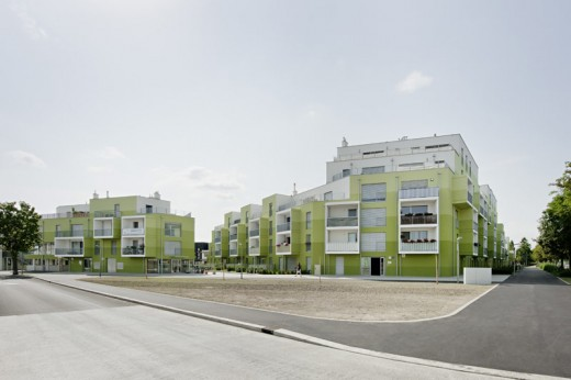 Housing Erzherzog-Karl-Straße - 121 Apartments / by AllesWirdGut and feld72