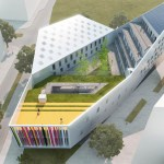 YOUTH CENTRE IN LILLE, FRANCE / by JDS Architects