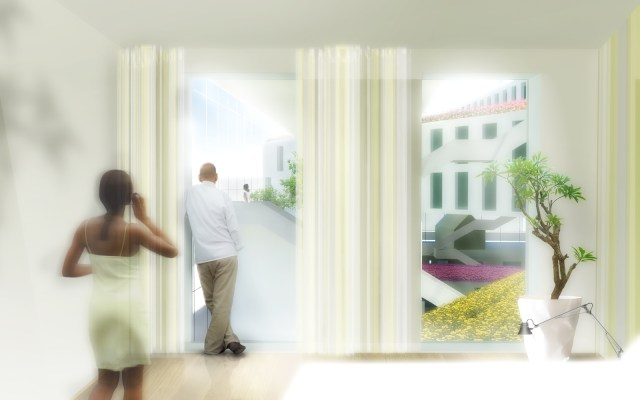 Flowerbed Hotel, Aalsmeer, Netherlands / by MVRDV