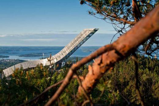 JDS's Holmenkollen Ski Jump has been announced as the winner of the 23rd Norwegian Steel Day Prize