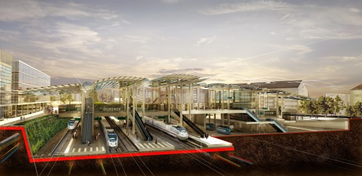 Ourense AVE Station / by Foster + Partners