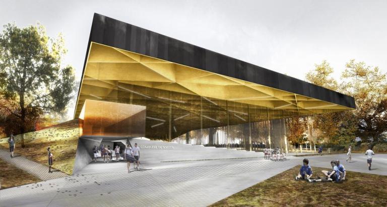 SMEC soccer centre / by SAUCIER + PERROTTE / HUGHES CONDON MARLER ARCHITECTS