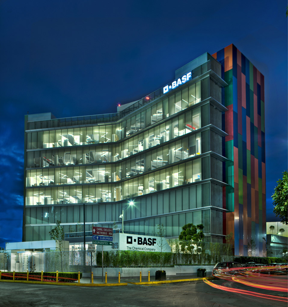 Basf Corporate Offices In Mexico City By Space