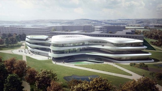 Green Climate Fund Headquarters, Bonn / by LAVA